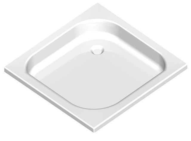 Acryl Shower Tray 80x80x15 cm deep