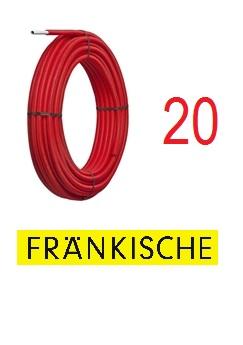 Alpex pipe 20x2 50 m Red Hose