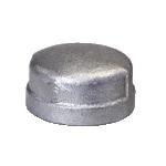 Malleable Iron Cap 4/4F Nickel