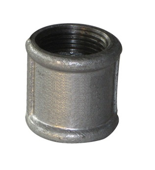 Malleable Iron Coupling 1/2Fx1/2F Nickel