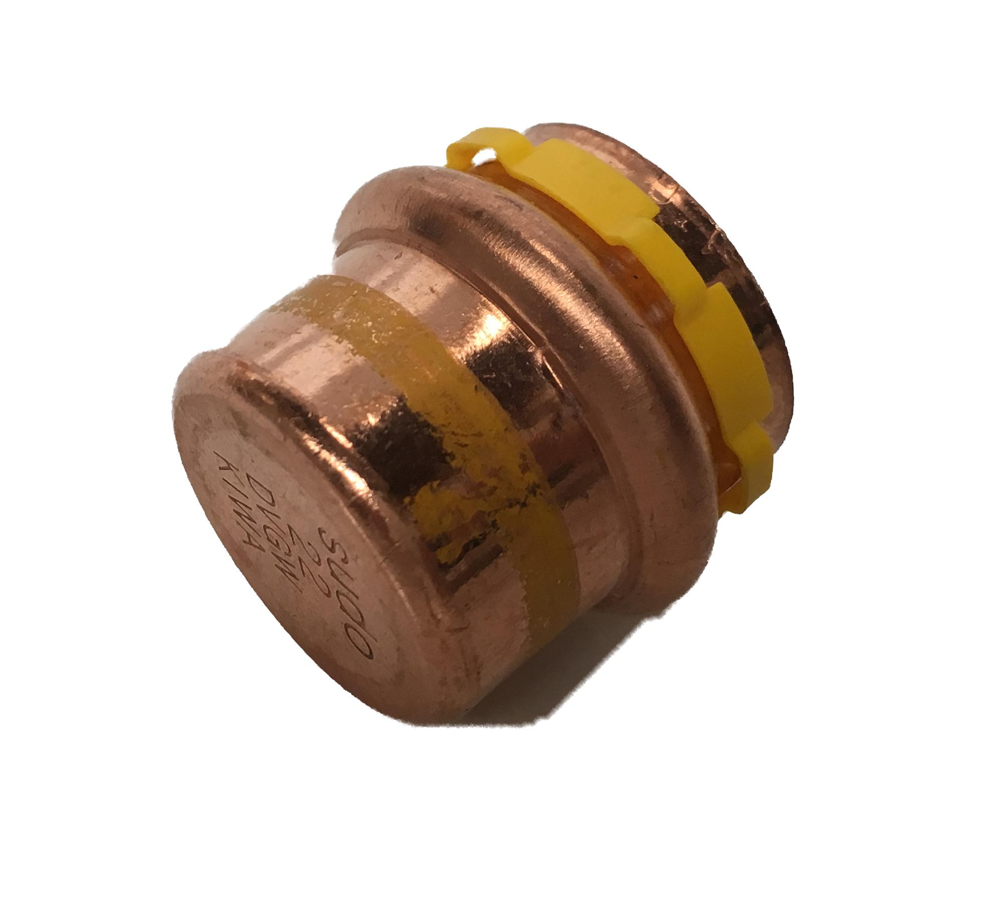 Copper Sudopress Press Stop for GAS 15 V-profile