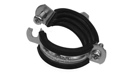 "Single PRO Pipe clamp  M8 4/4"" 32-35"