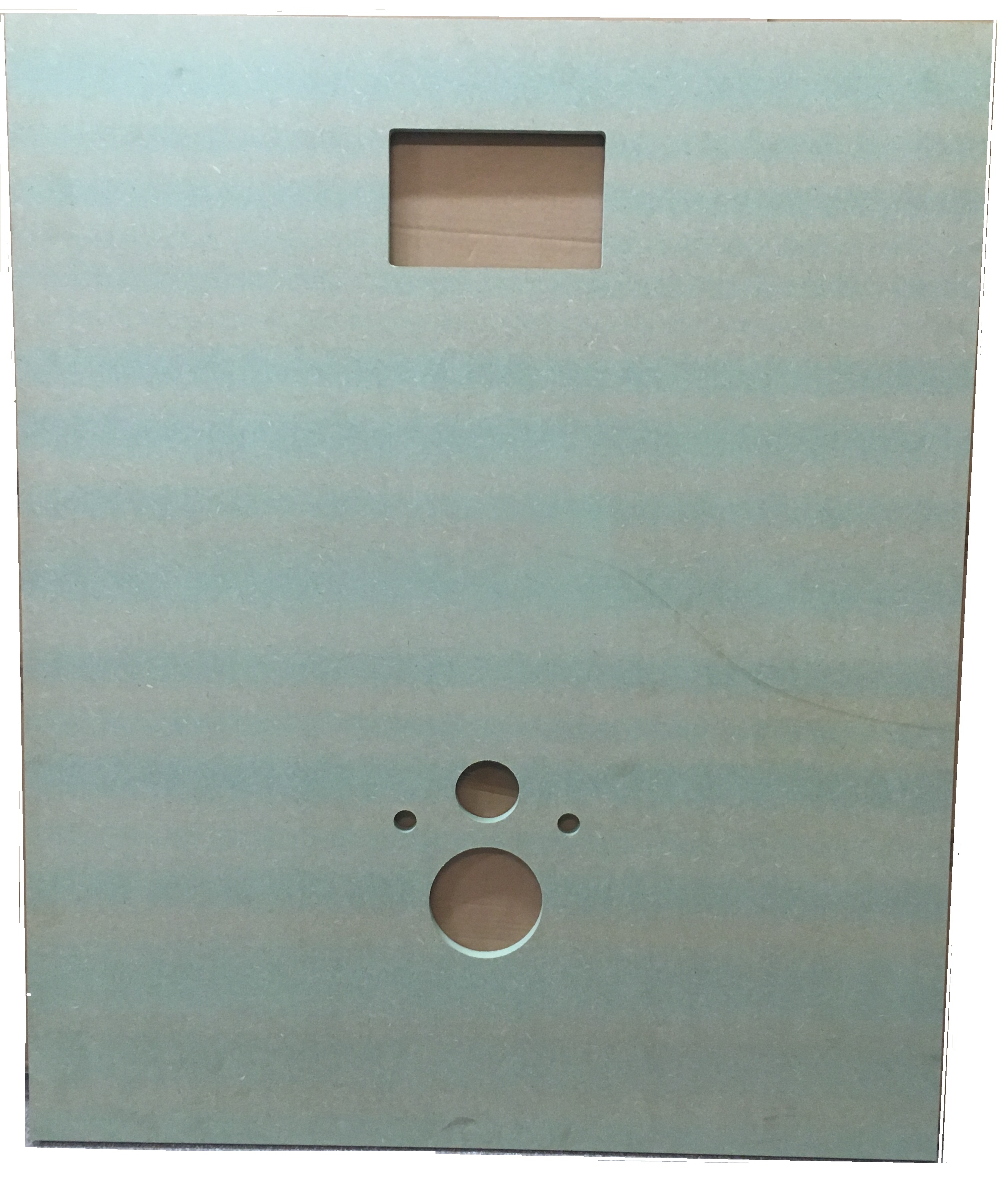Support Panel for hung toilet L=100 cm