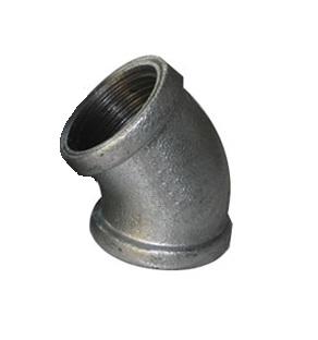 Malleable Iron Elbow 45° 5/4Fx5/4F Nickel
