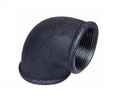 Malleable Iron Elbow 90° 5/4Fx5/4F Black