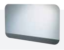 Antisteam LED mirror contactless Gloss white 120x70 cm