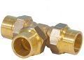 GAS knelkoppeling T-stuk 28x22x22
