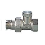 STRAIGHT Lockshield 1/2V x 1/2M