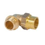 Gas compression Elbow Male 3/4Mx22