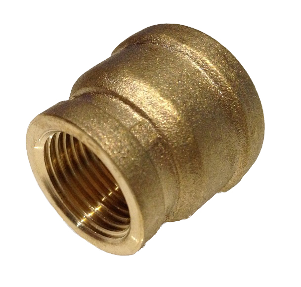 Brass Female Straight 4/4F x 1/2F