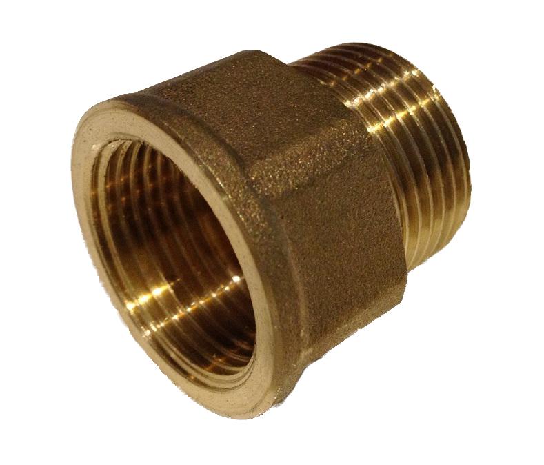 Brass Fitting 1/2M x 1/2F