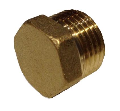 Brass Plug 3/8M