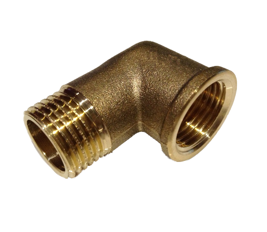 Brass Elbow 3/8M x 3/8F