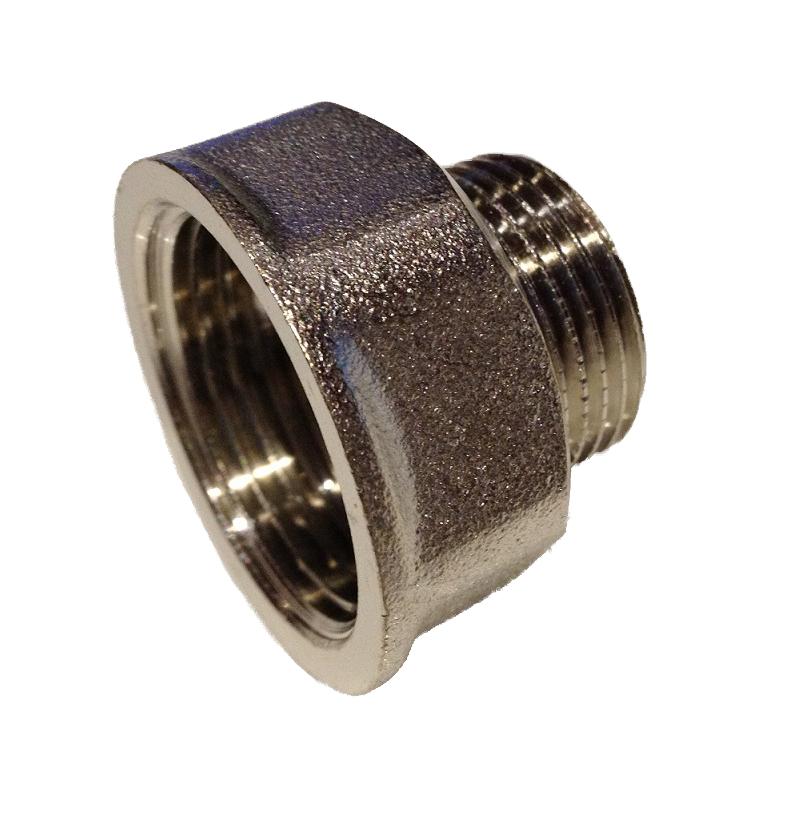 Brass Reduction 4/4F x 1/2M Nickel