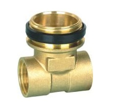 Male End Tee 1/2F x 4/4M x 1/2F Brass