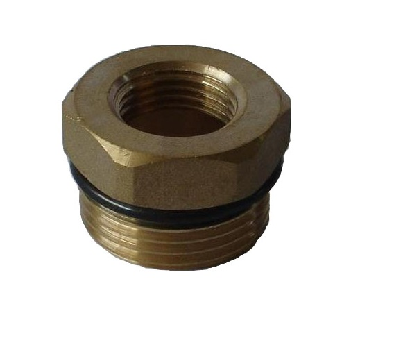 Brass Reduction 4/4M x 3/4F w/ oring