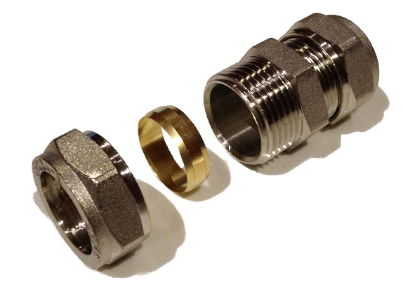 Compression Straight Adaptor 15 x 16