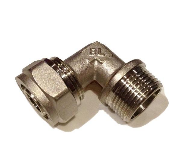Compression Male Elbow 3/4M x 20
