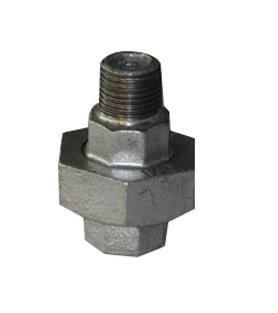 Malleable Union 1/2Mx1/2F Nickel