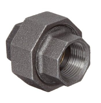 Malleable Union 4/4Fx4/4F Nickel